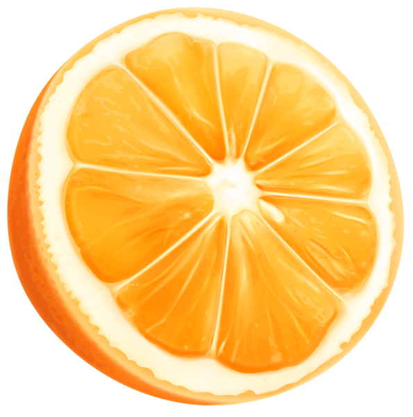 595x600 Orange Slice Png Clip Art Imageu200b Gallery Yopriceville
