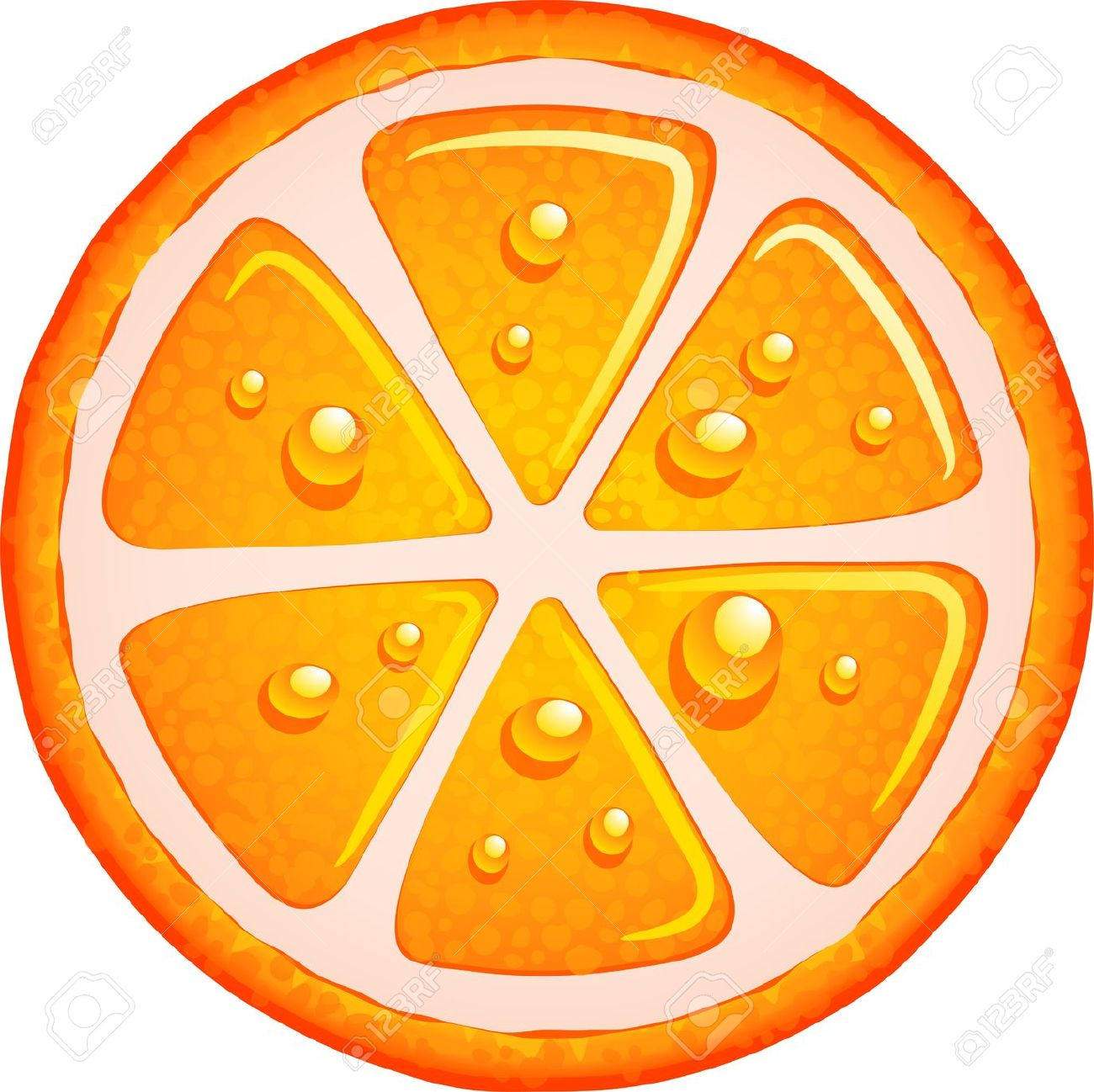 1300x1298 Clip Art Orange Slice Clip Art