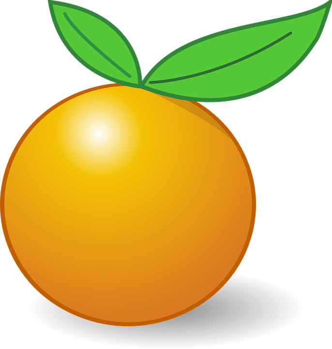686x720 Citrus Clipart Orange Fruit