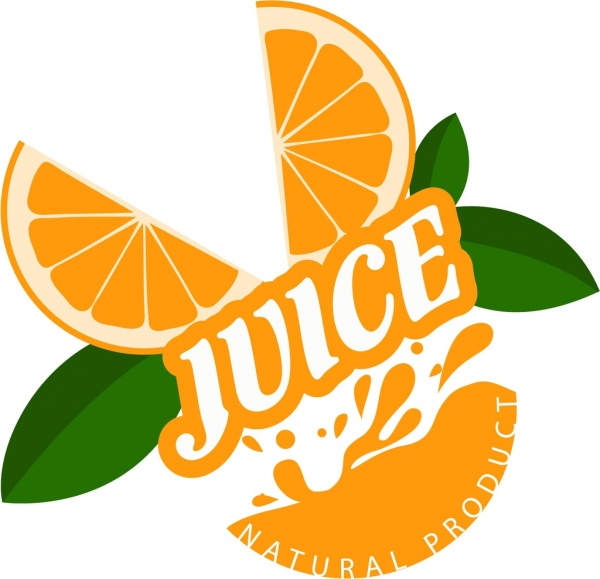 600x579 Natural Juice Products Advertisement Orange Slices Decoration Free