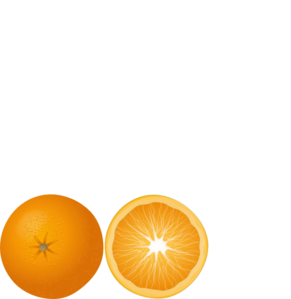 291x299 Orange Slice Clip Art