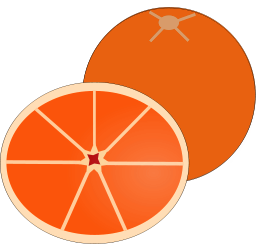 256x244 Free Orange Clipart, 1 Page Of Public Domain Clip Art