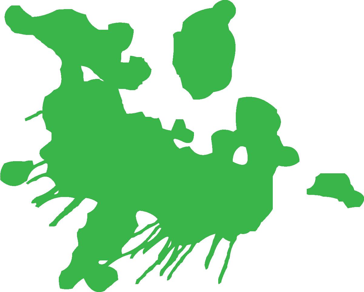 1201x962 Green Paint Splat Clipart
