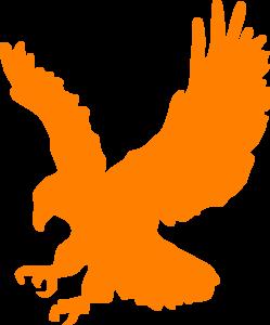 249x300 Orange Clipart Eagle
