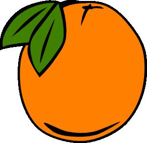 300x292 Color Orange Clip Art