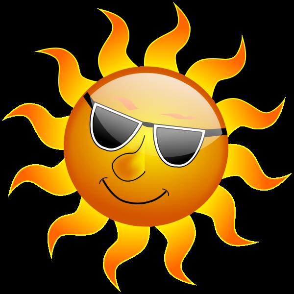 600x600 Orange Sun Clipart Best