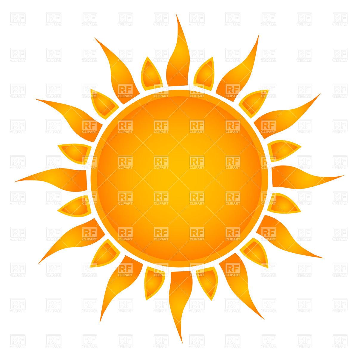1200x1200 Simple Sun Royalty Free Vector Clip Art Image