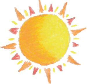 300x289 Sun A Perfect World Weather Clip Art Image