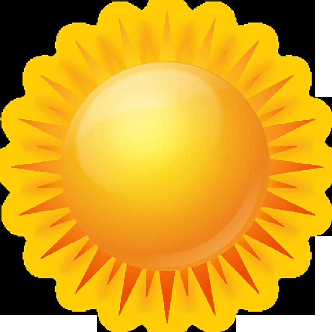 1080x1080 Sun Clipart Clear Background