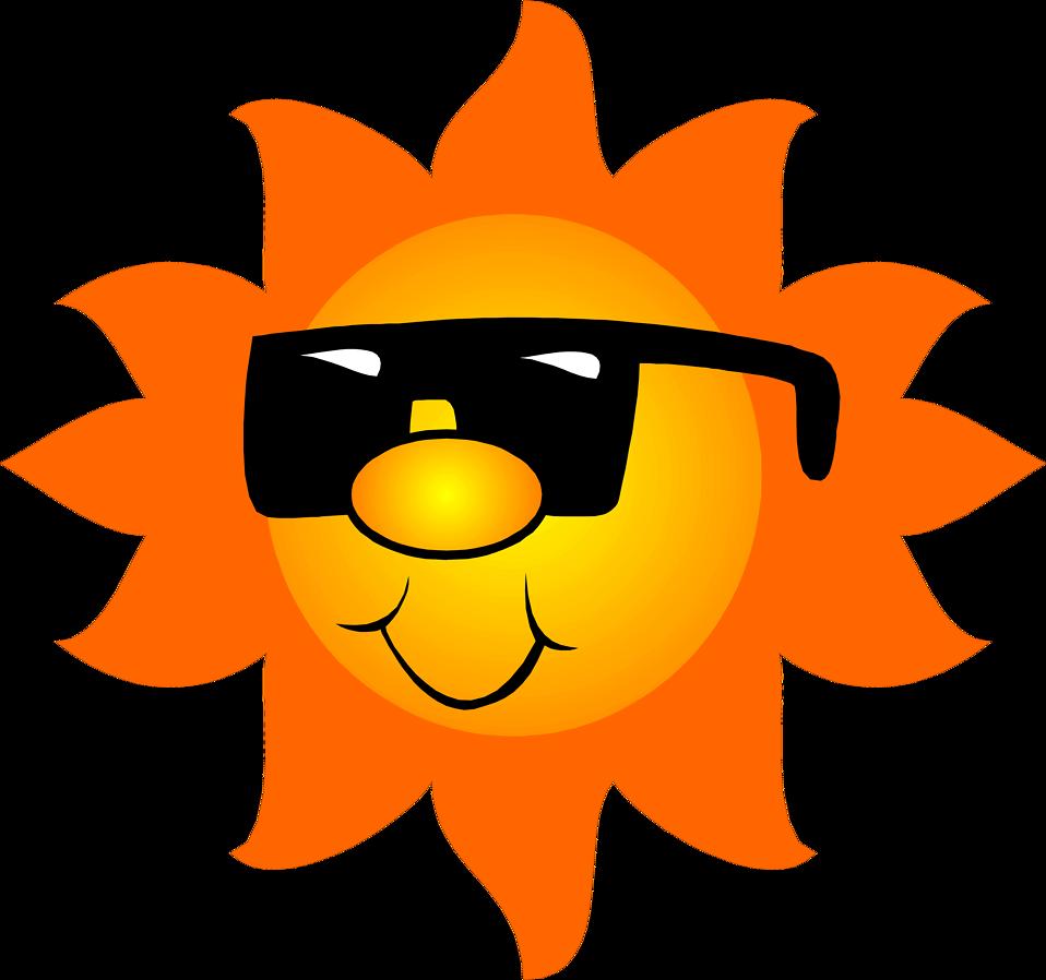 958x898 Sunshine Clipart Orange Sun