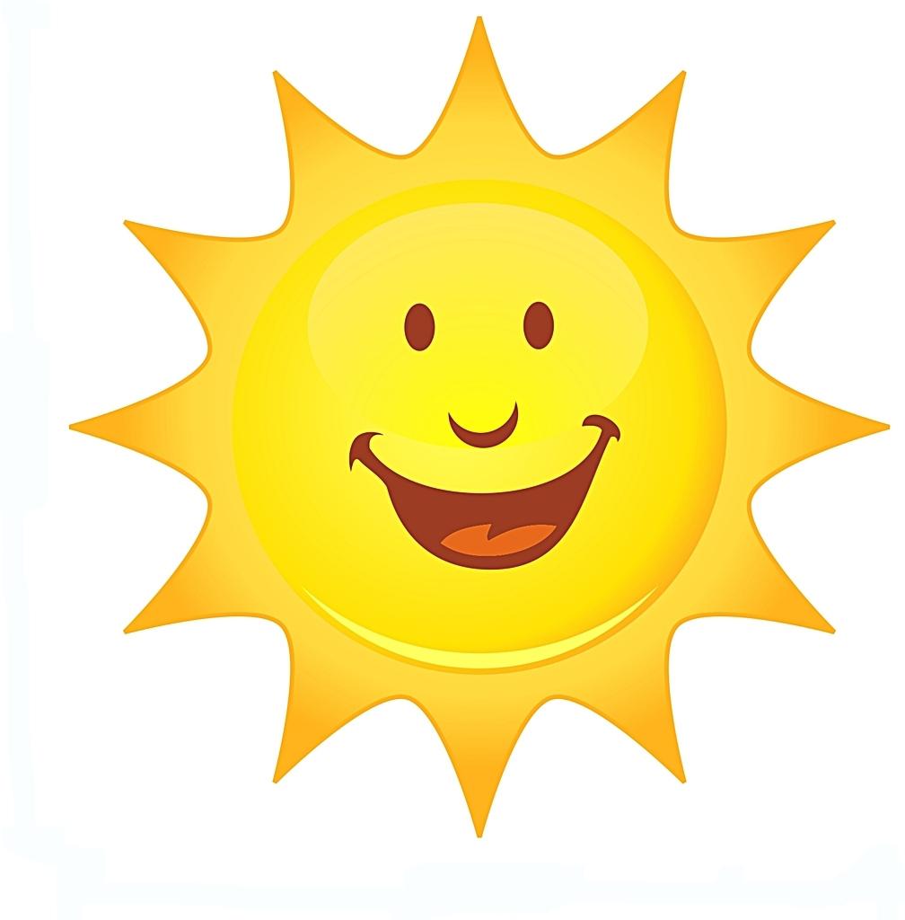 1008x1024 Clip Art Smiling Sun Clipart