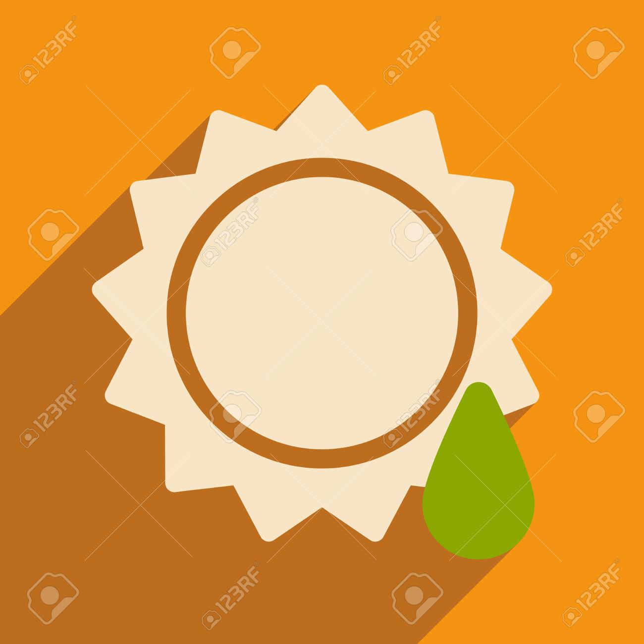 1300x1300 Drop Orange Sun Clipart