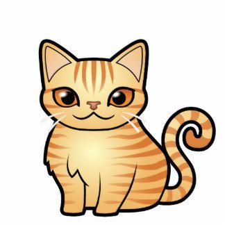 Orange Tabby Cat Clipart