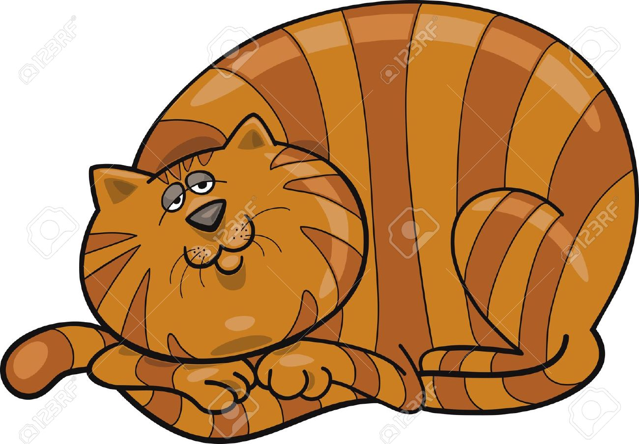 1300x904 Tabby Cat Clipart Caricature