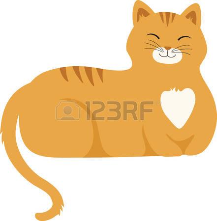 441x450 Tabby Cat Clipart Cute