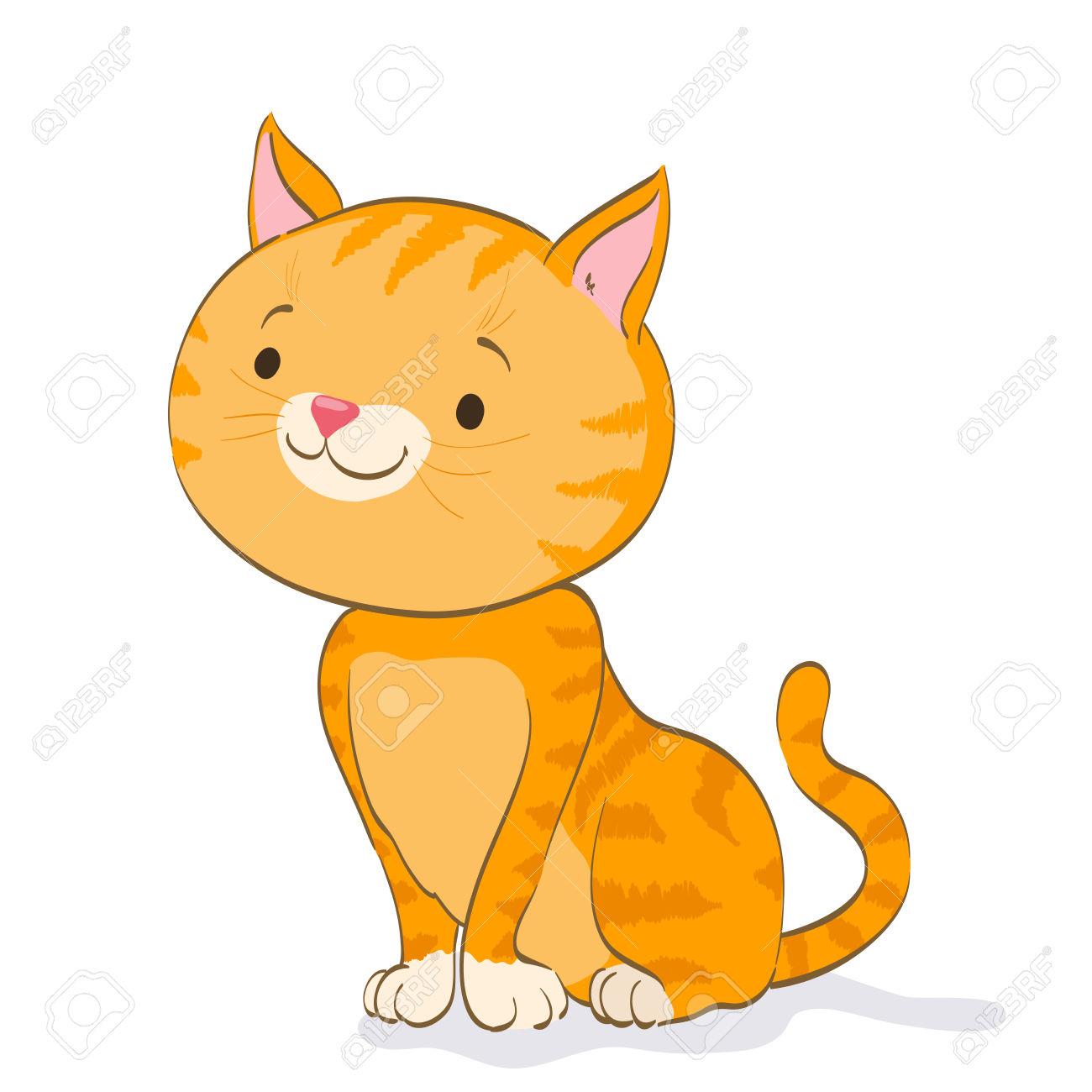 1300x1300 Tabby Cat Clipart Little Cat