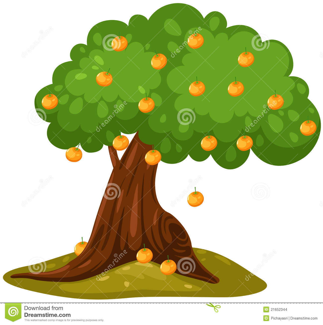 1300x1309 Orange (Fruit) Clipart Orange Tree