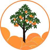 170x170 Orange Tree Clip Art