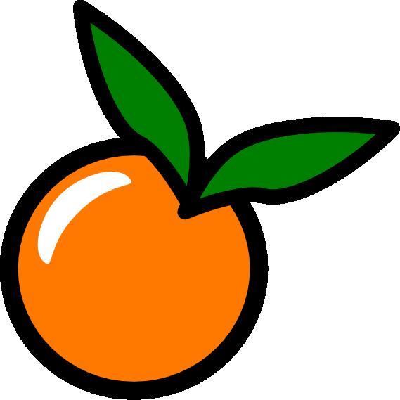 569x569 Free Orange Clipart Fruit Clip Art 2