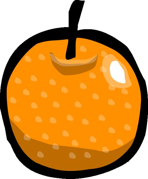 498x601 Orange Clip Art