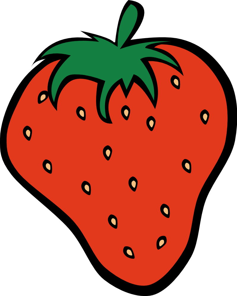 799x1000 Oranges And Strawberries Clip Art Cliparts