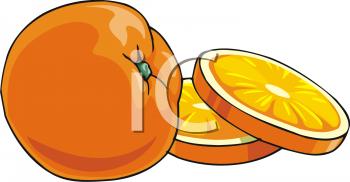 350x182 Royalty Free Orange Clip Art, Food Clipart