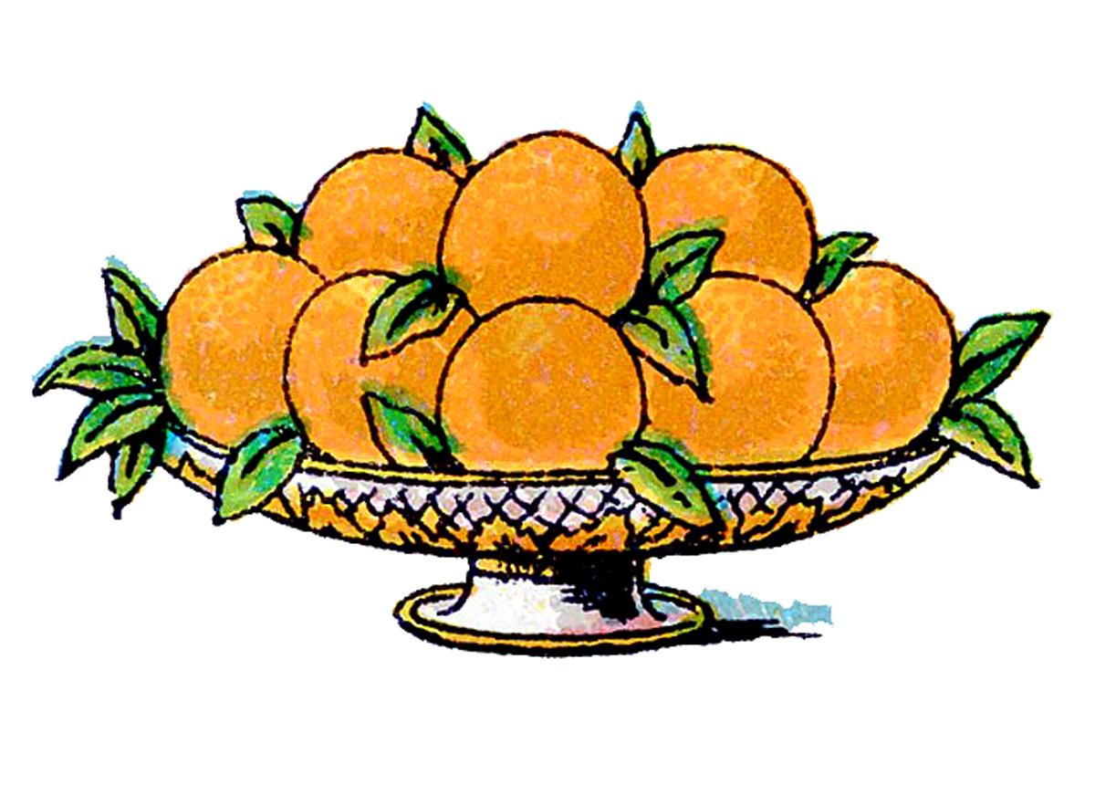 1200x883 Bowl Clipart Orange
