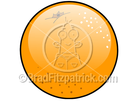 432x324 Cartoon Orange Clipart Picture Royalty Free Orange Clip Art