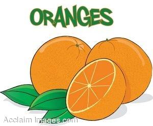 300x247 Clip Art Of Oranges