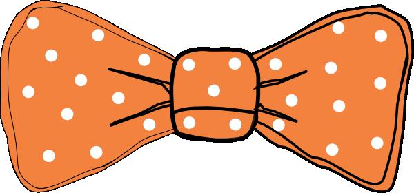 600x280 Clip Art Orange Bows Clipart Kid 2