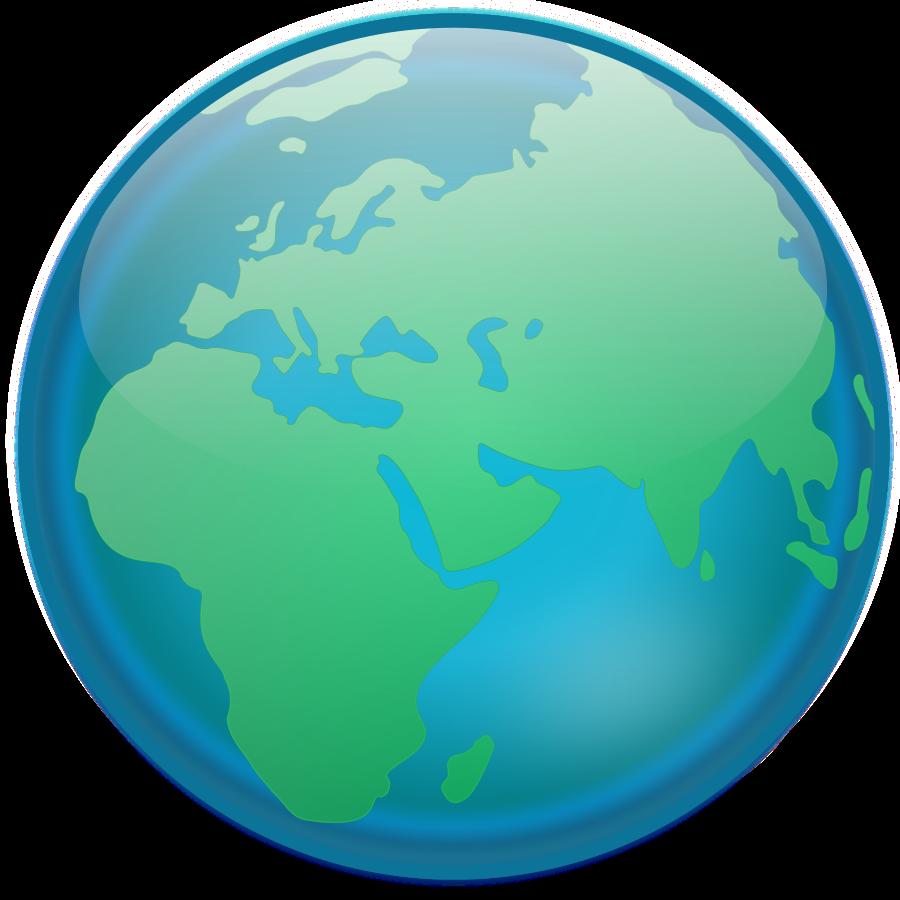 900x900 Globe Clipart