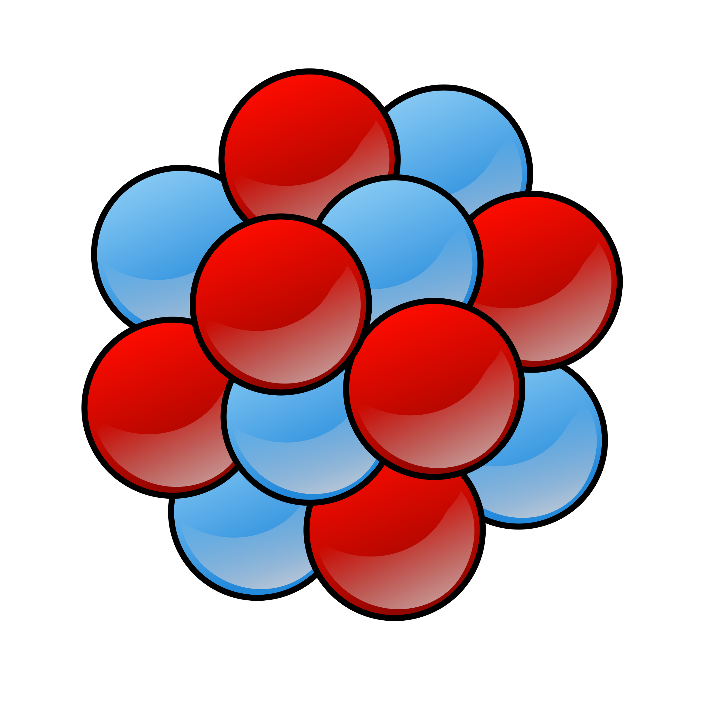 2319x2400 Nuclear Clipart Molecules And Atom