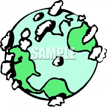 350x349 Transparent World Globe Clipart