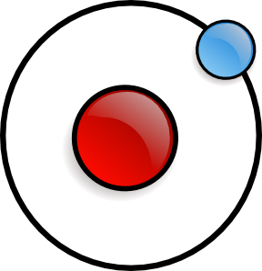 288x298 Atom Symbol 2 Clip Art