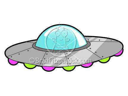 432x324 Cartoon Ufo Clip Art Ufo Graphics Clipart Ufo Icon Vector Art