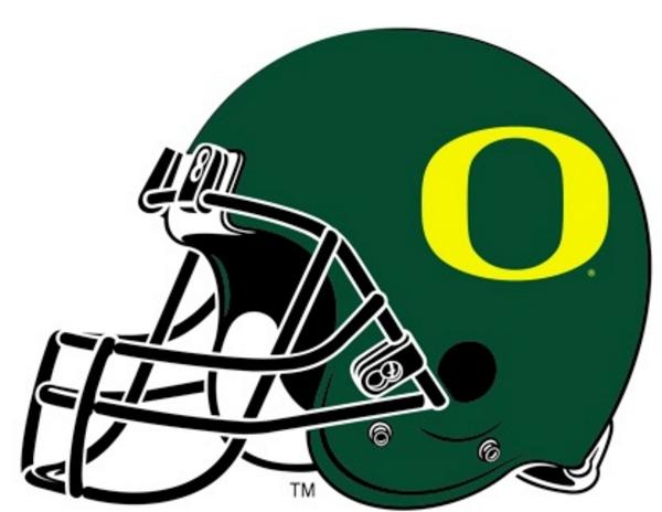 600x464 Oregon Ducks Football Clipart