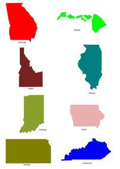 236x333 Oregon State Outline Map In Svg Format Clip Art Places Oregon