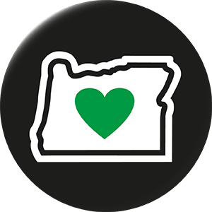 300x300 Oregon Clipart Oregon Outline With Heart