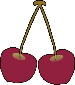 263x300 Cherries Clip Art Download