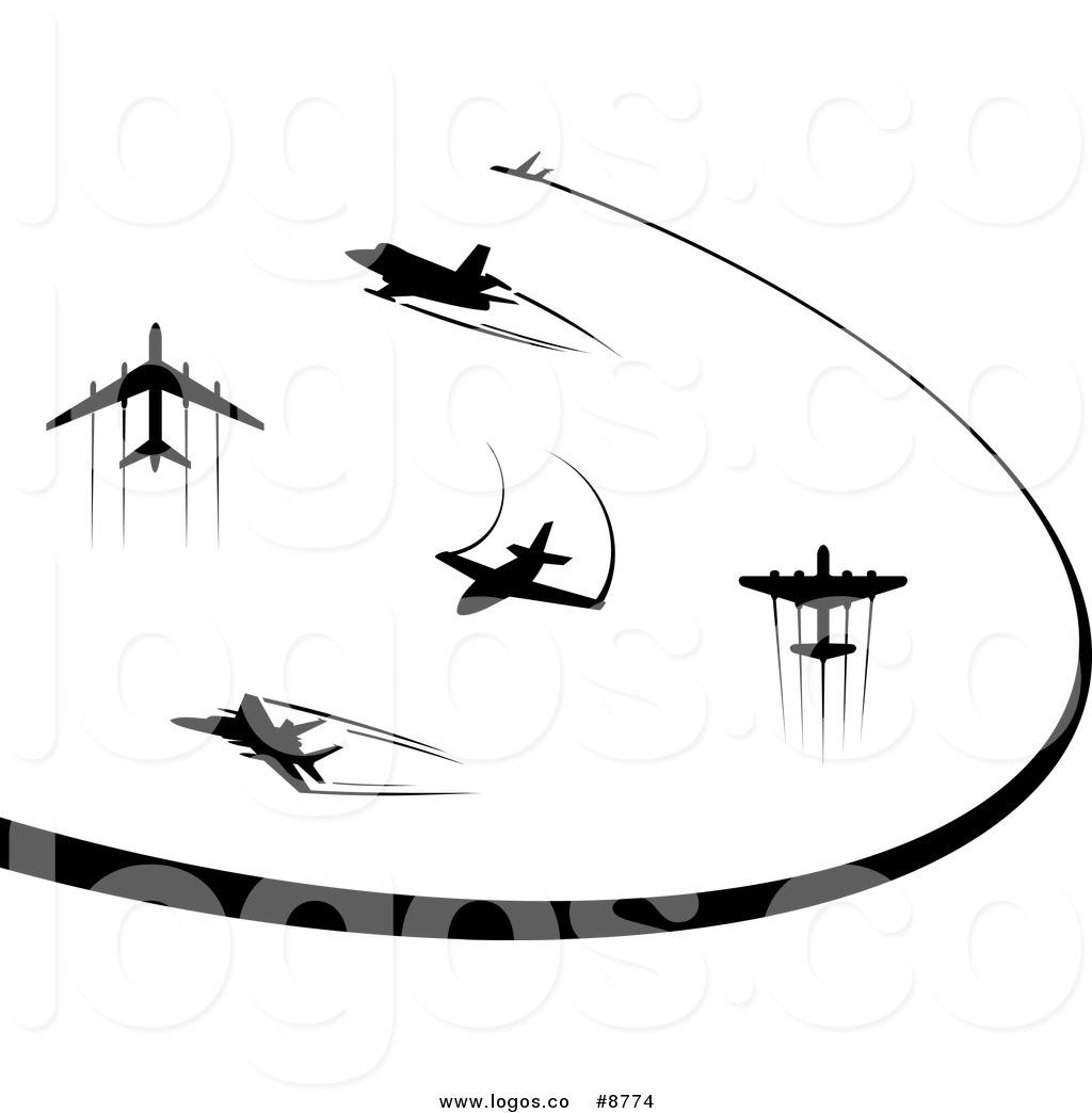 1024x1044 Airplane Trail Clipart