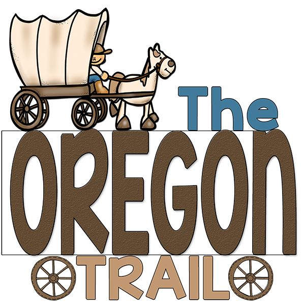600x600 Wagon Clipart Oregon Trail