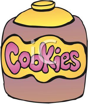 298x350 Free Cookie Jar Clipart