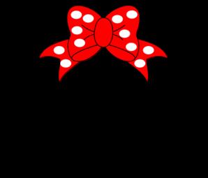298x255 Minnie Mouse Clip Art