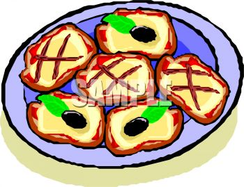 350x269 Biscuit Clipart Plate Cookie