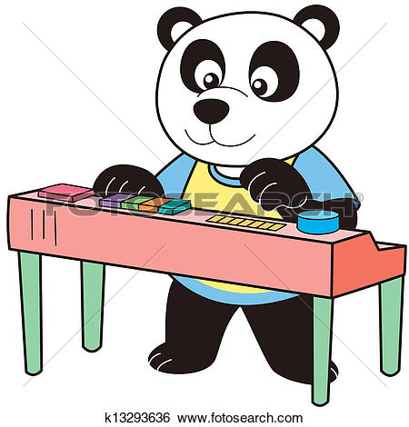 450x470 Electronic Organ Clipart