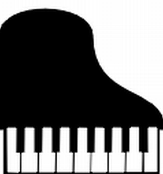 640x683 Top View Organ Piano Keyboard Clipart