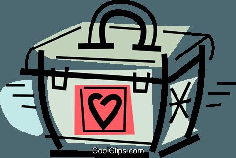 480x322 Organ Transplant Container Royalty Free Vector Clip Art
