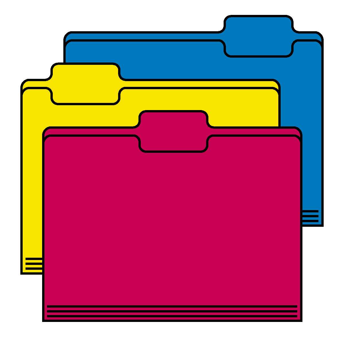 1200x1200 File Folder Clipart