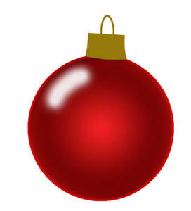 272x300 Christmas Tree Ornament Clipart