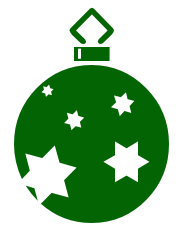 180x228 Free Christmas Ornaments Clipart